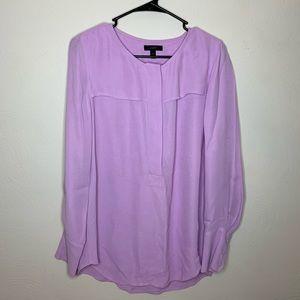 J. Crew Soft Purple Blouse
